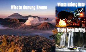 Paket Wisata Bromo Malang Songa Rafting 3 Hari 2 Malam