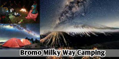 Pakej Camping Bromo Milky Way