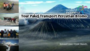 Tour Pakej Transport Percutian Bromo